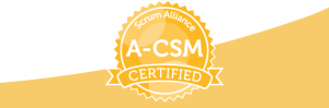 Im zweiten Schritt des ScrumMaster-Ausbildungspfads durch Training und Assessment zum Scrum Alliance Advanced Certified ScrumMaster - A-CSM!